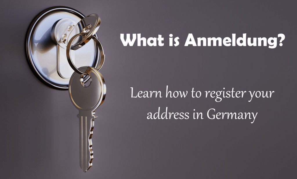 Anmeldung in Germany - An English Guide