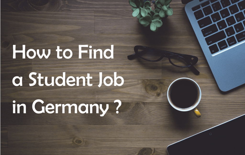 How to find student job in Germany