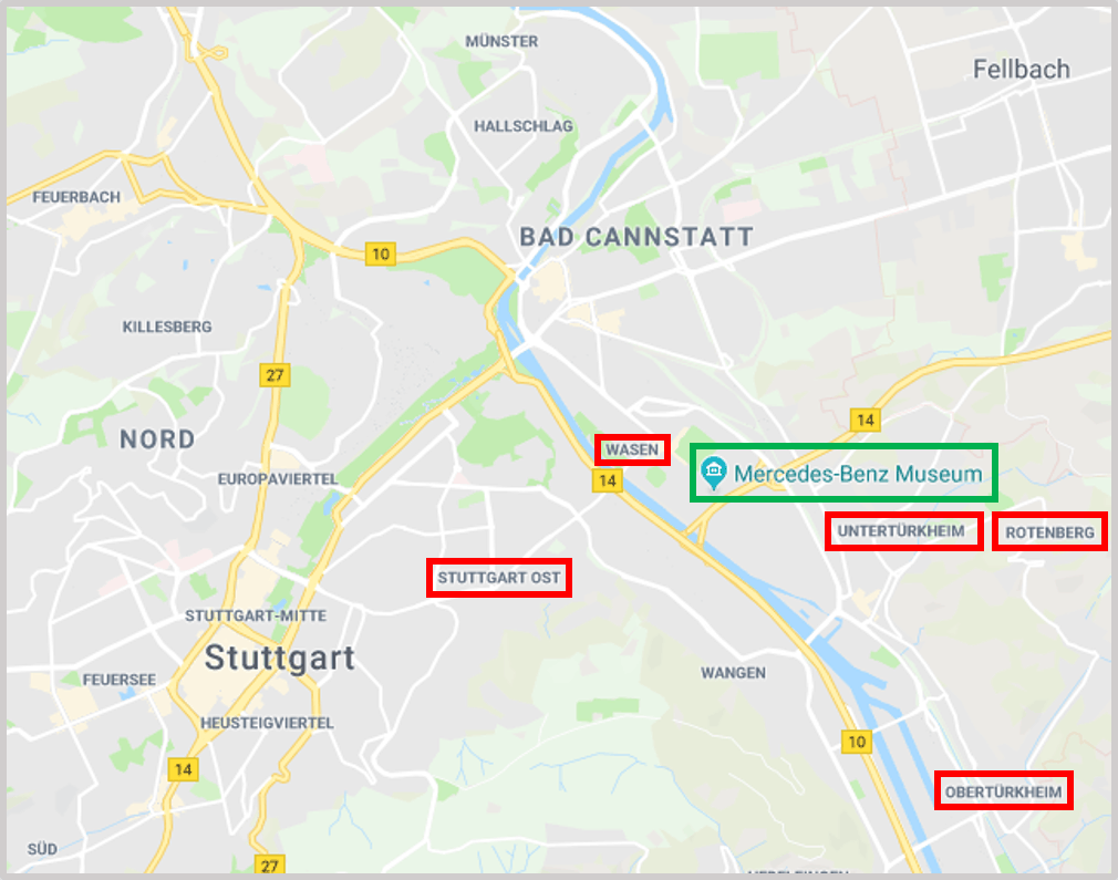 Stuttgart Maps